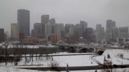 Stock Video Footage of Calgary Winter