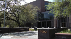 Tallahassee City Hall-2 - stock footage