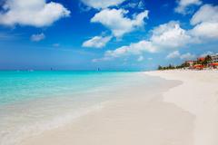 grace bay beach - stock photo