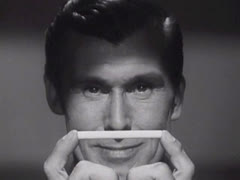 Man Holding a Cigarette Stock Footage