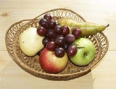 Stock Photo of much fruits