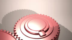Pink Gears VBHD0234 Stock Footage
