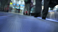 Moving walkway Stock Footage