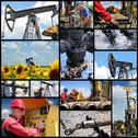 Stock Photo of Oil and Gas Industry - Collage