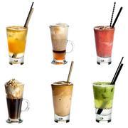 Non alcoholoc cocktails Stock Photos