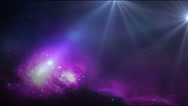 Stock Video Footage of Abstract Purple Balls VBHD0333