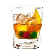Alcoholic cocktail Stock Photos