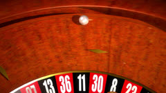 Roulette Table VBHD0339 Stock Footage
