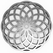Metal geometrical shape Stock Photos