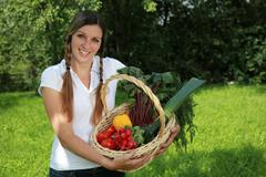 fresh harvest - stock photo