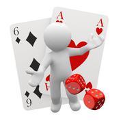 Lucky games Stock Illustration