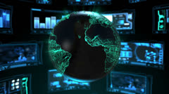 Global Technology 4 - stock footage