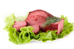 beef meat - stock photo
