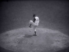 Vintage Sports_Baseball 03 - stock footage