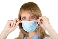 danger flu epidemic - stock photo