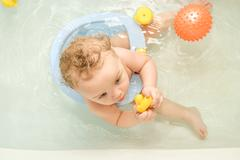 bathing - stock photo
