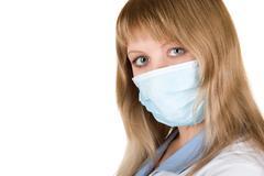 Flu epidemic Stock Photos