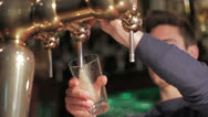 Stock Video Footage of Draft beer