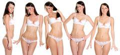 Sexy underwear models Stock Photos