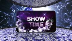 08 earth blue showtime disco - stock footage