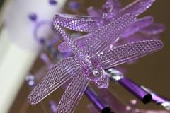 Plastic Dragonfly 2 - stock photo