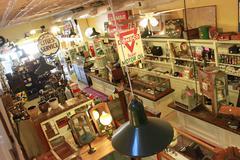 Antique Shop - stock photo