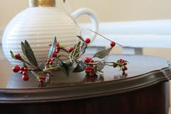 Decorative Holly - stock photo