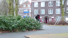 Bike thief Stock Footage
