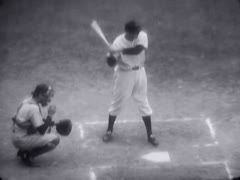 Vintage Sports_Baseball 06 - stock footage