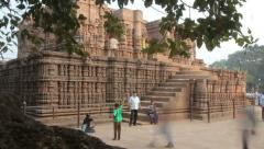 Temple of the Sun India, time lapse Stock Footage