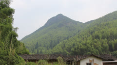 Chinese Mountain Village - stock footage