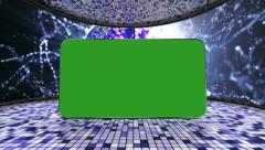 35 disco greenscreen still Stock Footage