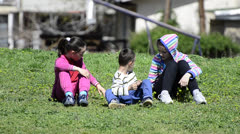Kids game play Stock Footage