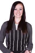 Beautiful girl with an apron Stock Photos
