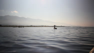 Stock Video Footage of Inle Lake-19