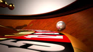 Stock Video Footage of Roulette table VBHD0362