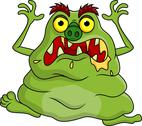 Stock Illustration of Funny monster