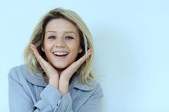 Stock Photo of portrait of beautiful woman