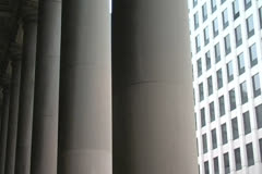 City Columns - stock footage