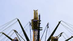 Carousel luna park 06 Stock Footage