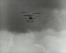 World War 1 - Dogfight Stock Footage