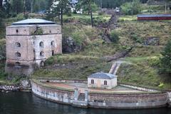 Maritime fortress Stock Photos
