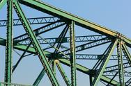 Stock Photo of steel bridge