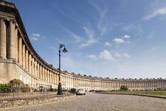 Bath royal crescent somerset england Stock Photos