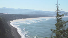Oregon Coastal View Stock Footage