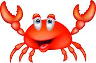 Stock Illustration of Cute crab cartoon