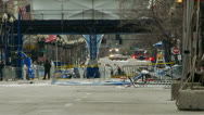 Stock Video Footage of Boston Marathon Bomb Site