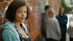 Teenage Girl - stock footage