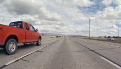 Driving Plate POV - Boise Idaho Freeway 1 Stock Footage