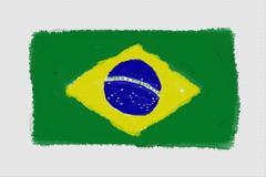 Brazil Frag Art Stock Photos